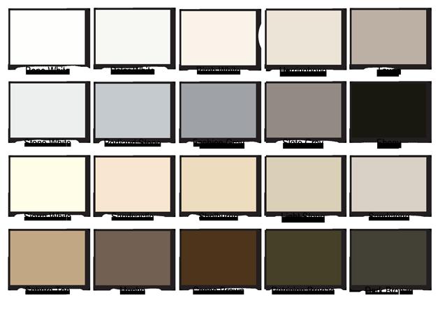 Kynar Paint Colors