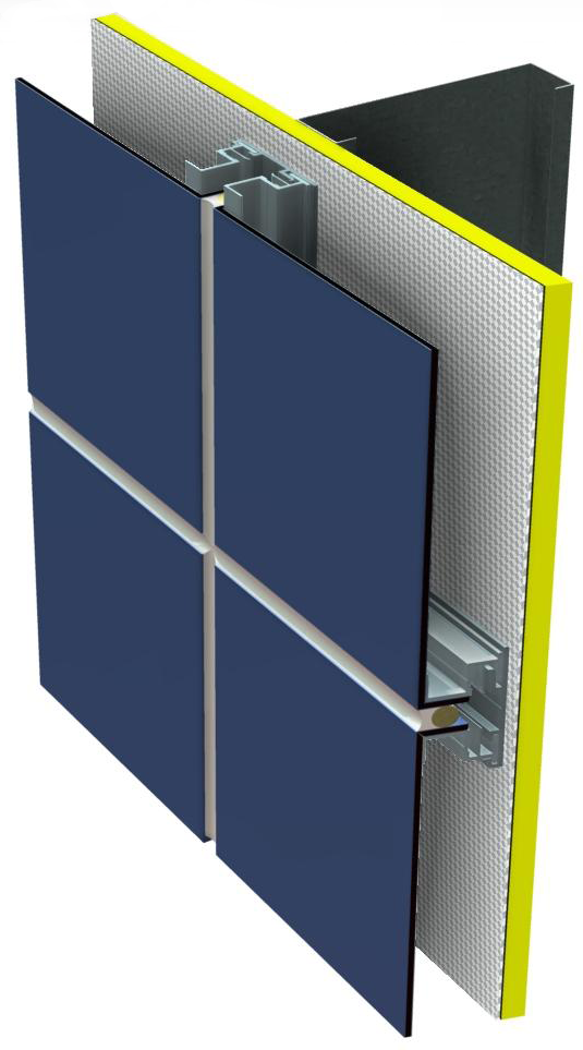 Metal Panel Systems : Metal wall panels mcm systems peachtree protective